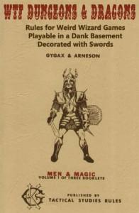 Capa da primeira edição de D&D