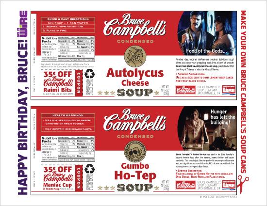 Bruce Campbells Soup