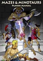 Mazes & Minotaurs - Livro do Jogador
