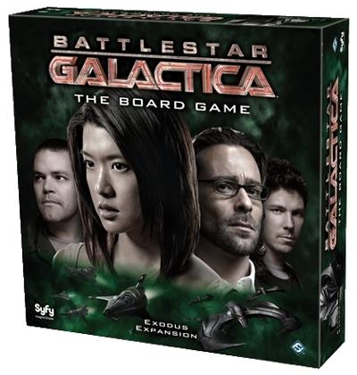 Exodus – Nova Expansão para Battlestar Galactica Board Game