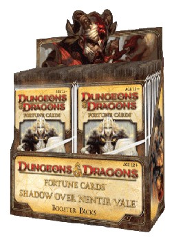 D&D Fortune Cards Shadows Over Nentir Vale Box