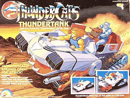 Thundercat Tank on Mais Detalhes Sobre O Novo Thundercats Antigo Thunder Tank