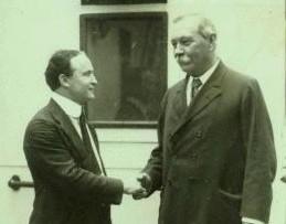 Arthur Conan Doyle e Harry Houdini
