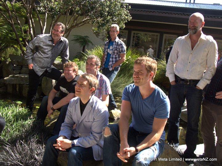 Primeira Reunião do Elenco de O Hobbit
