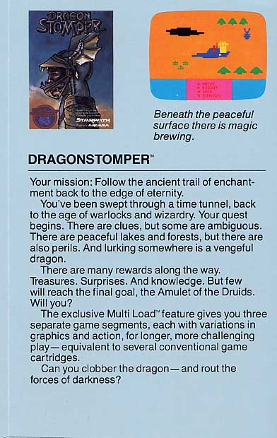 Dragonstomper Flyer