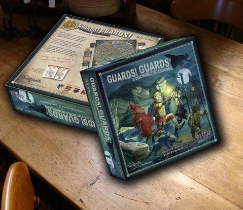 Guards! Guards! - Discworld Ganha Jogo de Cartas