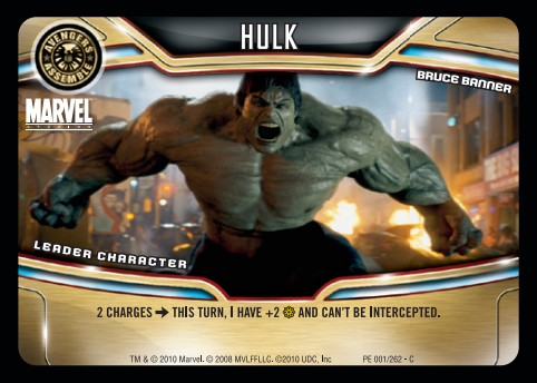 Hulk - Marvel Superstars TCG