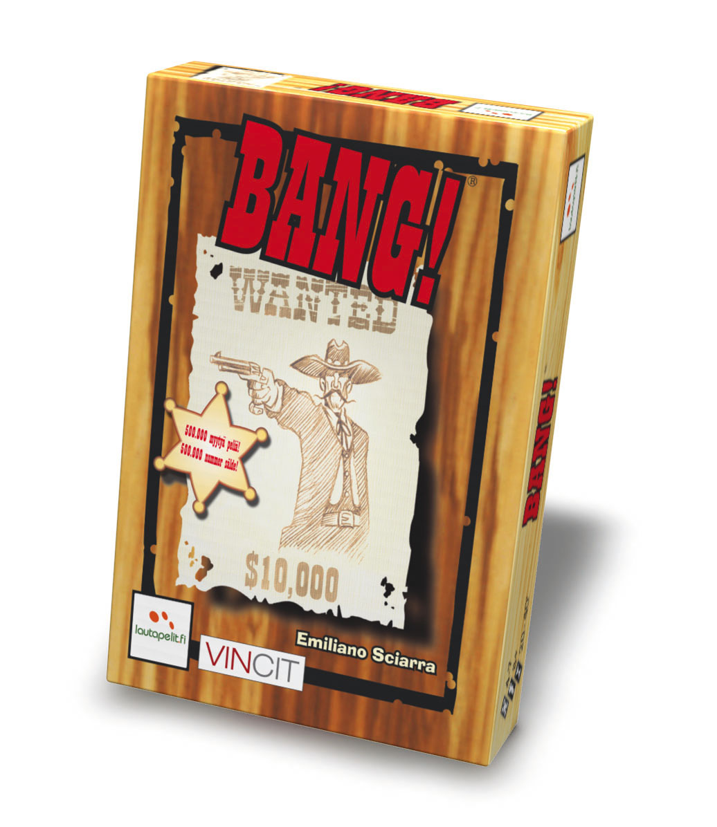 Análise de Jogo: Bang! Card Game - Box
