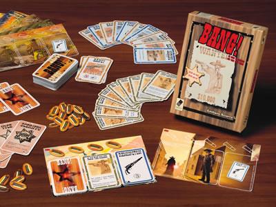 Análise de Jogo: Bang! Card Game - Componentes