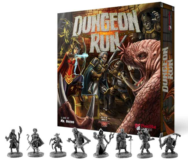 Dungeon Run Box e Miniaturas