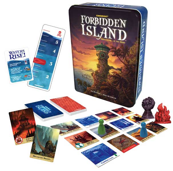 Jogo de Tabuleiro - Forbidden Island