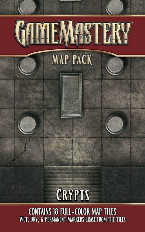 GameMastery Map Pack Crypts