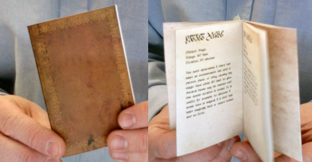 Mini Livro de Magias
