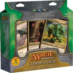 magic commander devour for power