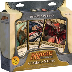 magic commander heavenly inferno