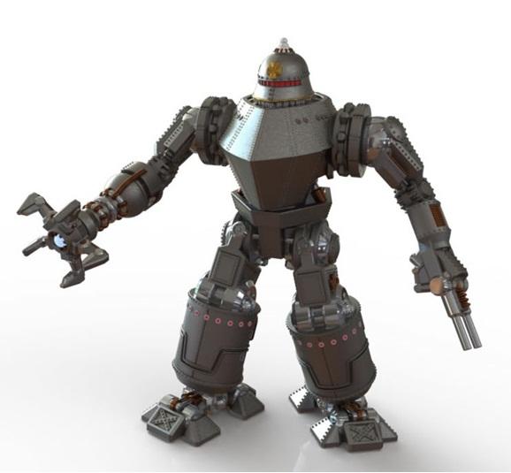 Dystopian Wars - Metzger Robot