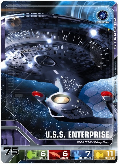 Star Trek The Next Generation Deck Building Game