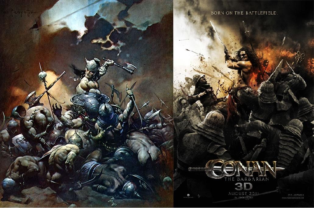 Conan the Destroyer - Born on the Battlefield