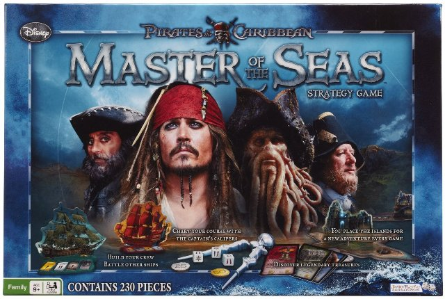 Pirates of the Caribbean Master of the Seas