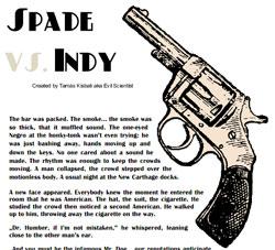 Spade vs Indy