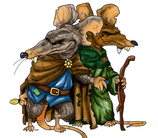 Woodland Warriors - Rats