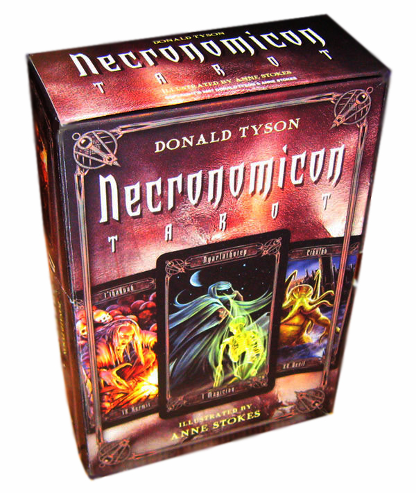 Necronomicon Tarot Box