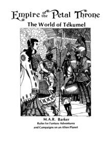 Empire of the Petal Throne TSR