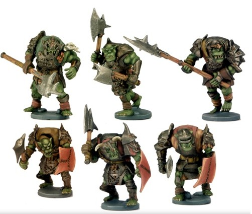 Dwarf King's Hold: Green Manace - Orcs