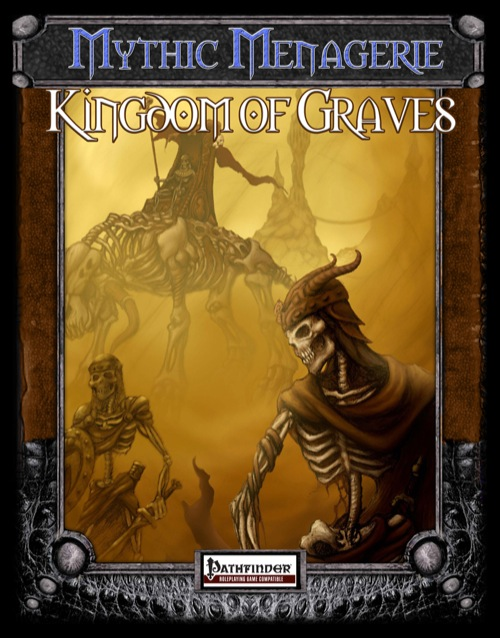 Kingdom of Graves: Reino dos Mortos Para Pathfinder RPG