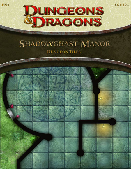 The Shadowghast Manor Dungeon Tiles