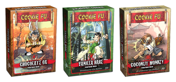 Cookie Fu Clan - Artes Marciais e Bolinhos