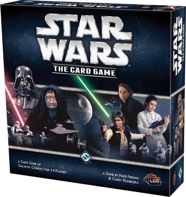 Caixa Novo Card Game Star Wars