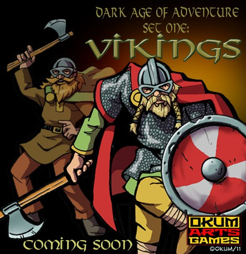Dark Age Of Adventure Set One: Vikings