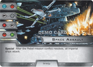 Star Wars Card Game - space-assault