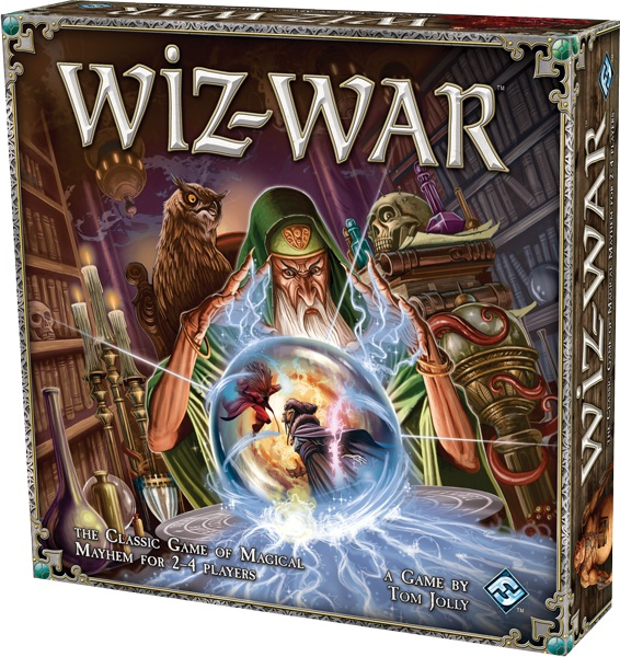 Fantasy Flight Anuncia Nova Edição Do Clássico Wiz-War