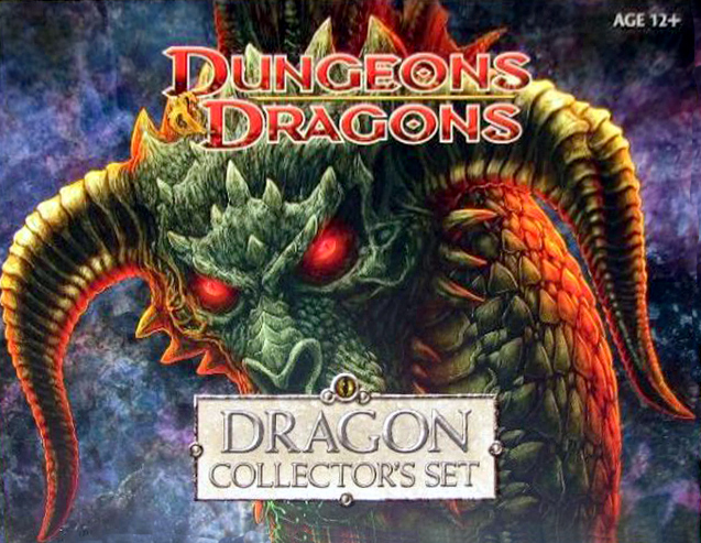 D&D Miniatures-Dragon Collector's Set