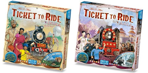 Ticket to Ride Map Collection