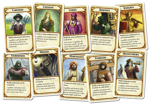 Kingdom Builder Cards