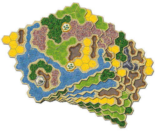 Kingdom Builder Hexes
