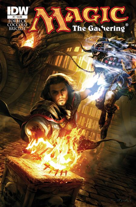Nova Série em Quadrinhos Baseada em Magic: The Gathering