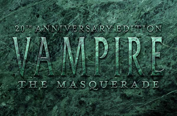 Vampire the Masquerade 20th Anniversary Edition eBook