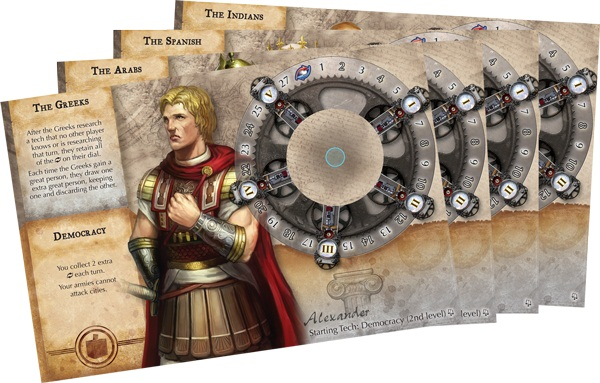 Civilization The Board Game – Fame and Fortune - Gregos