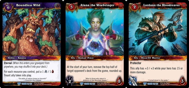 WOW - Throne of the Tides - Cards