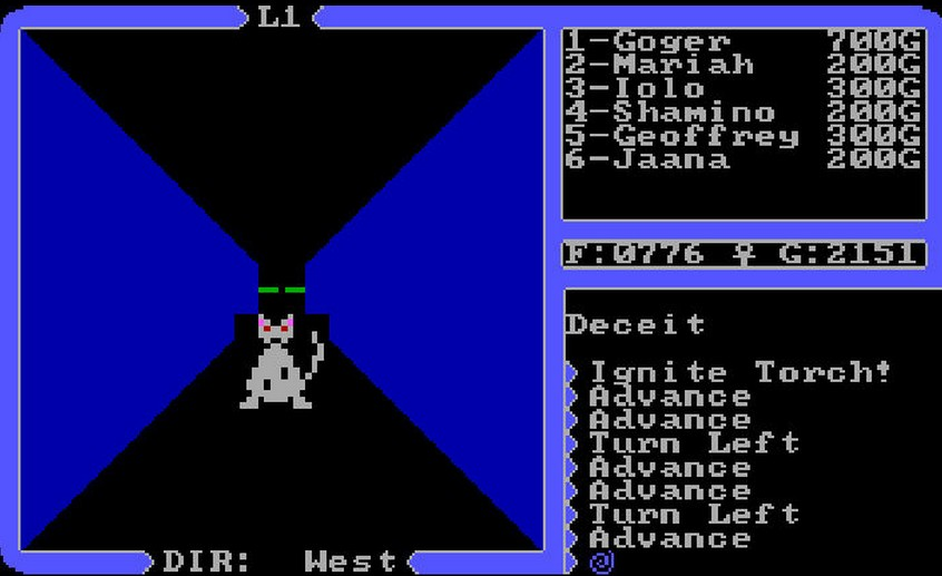 ultima 4 Dungeon