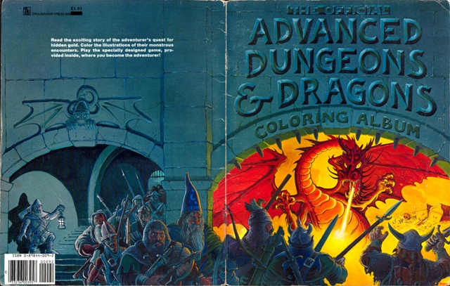 Official Advanced Dungeons & Dragons Coloring Album