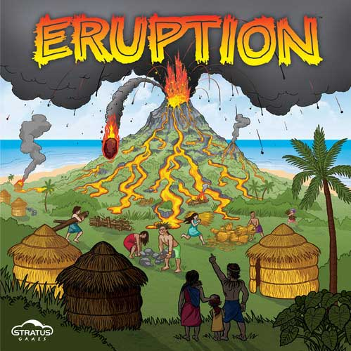 Eruption Board Game