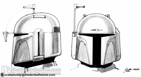 Boba Fett-Joe Johnston Concept Art