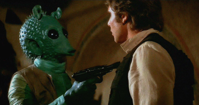 Greedo vs. Solo