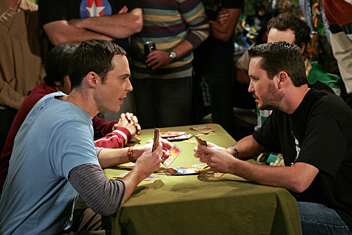 Sheldon vs Wil Wheaton