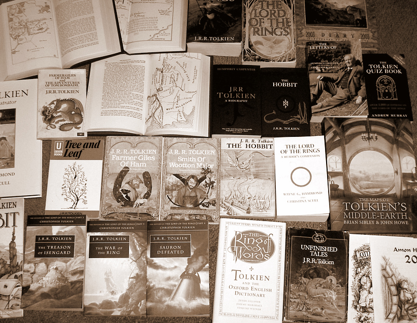 Livros Tolkien